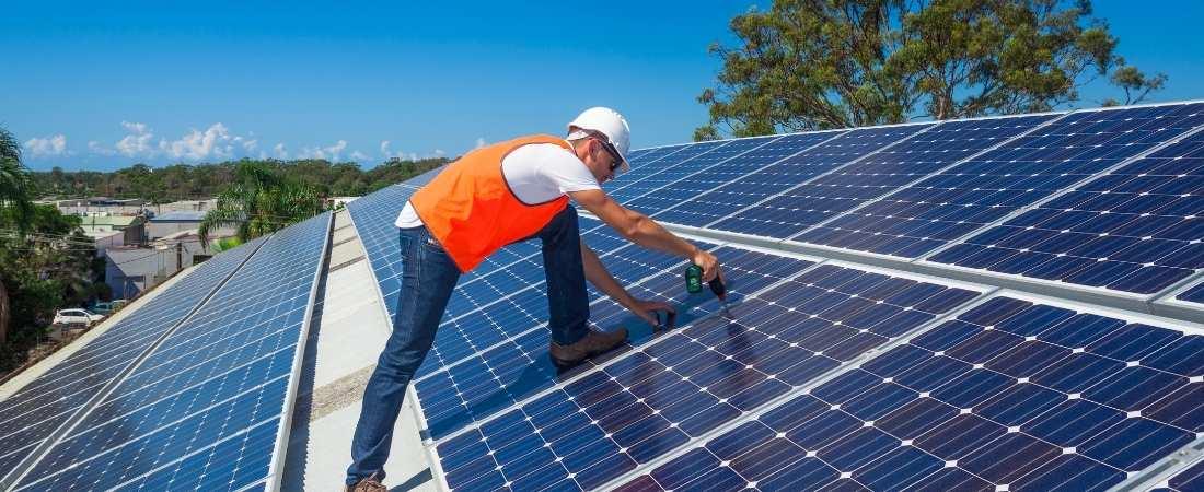 Instalación placas solares en casa